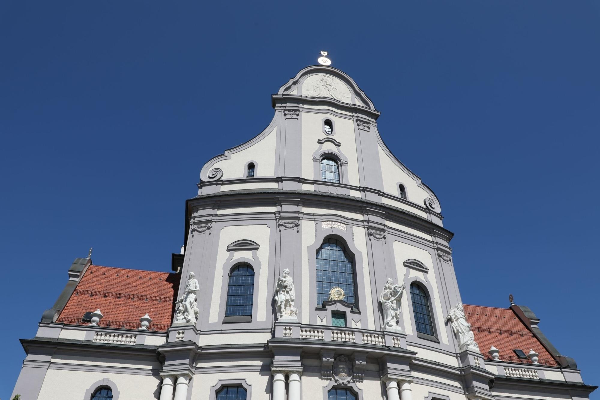 Mittel Basilika Sankt Anna Altötting