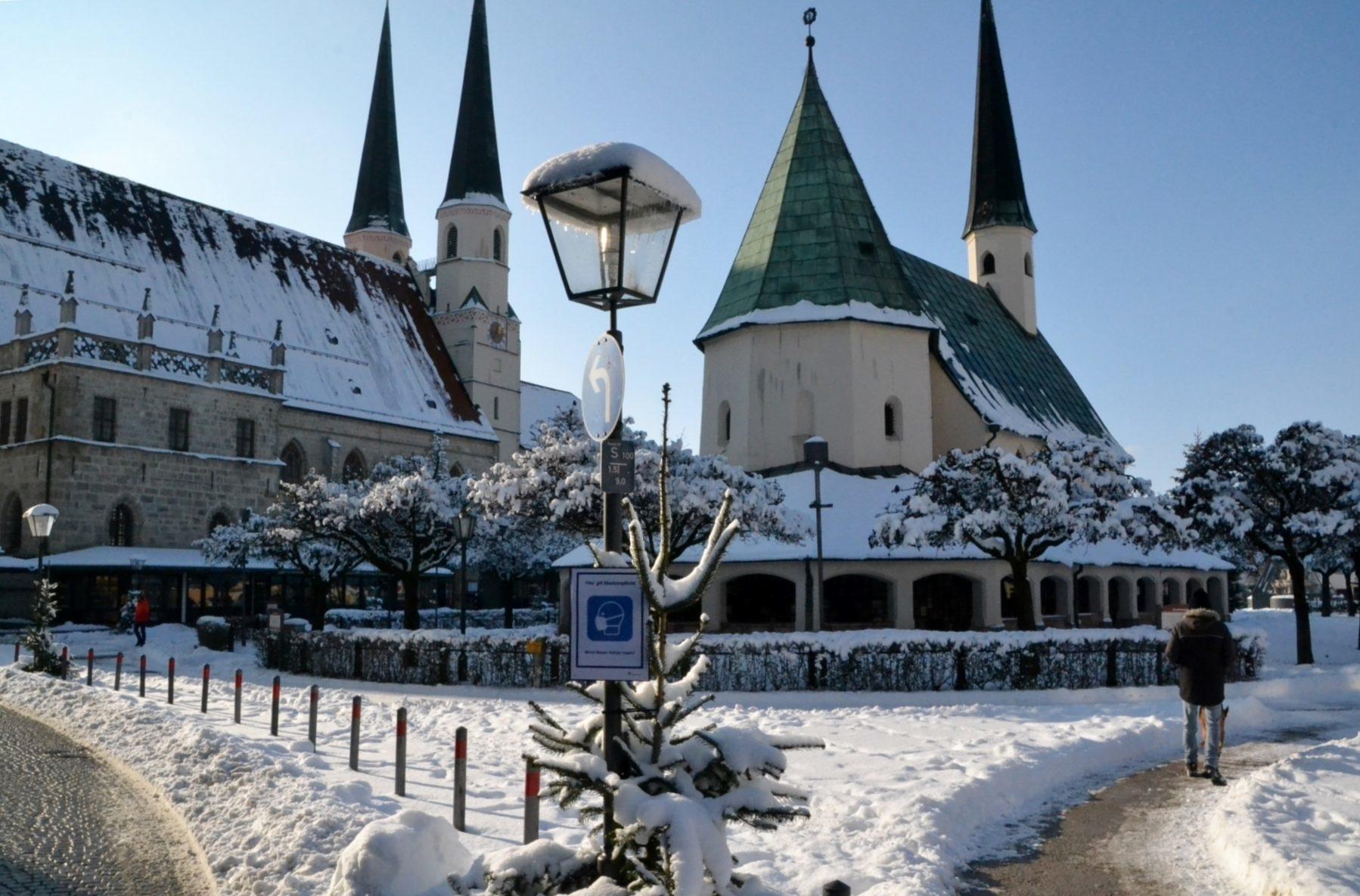 Winter am Kapellplatz Januar 2021 2