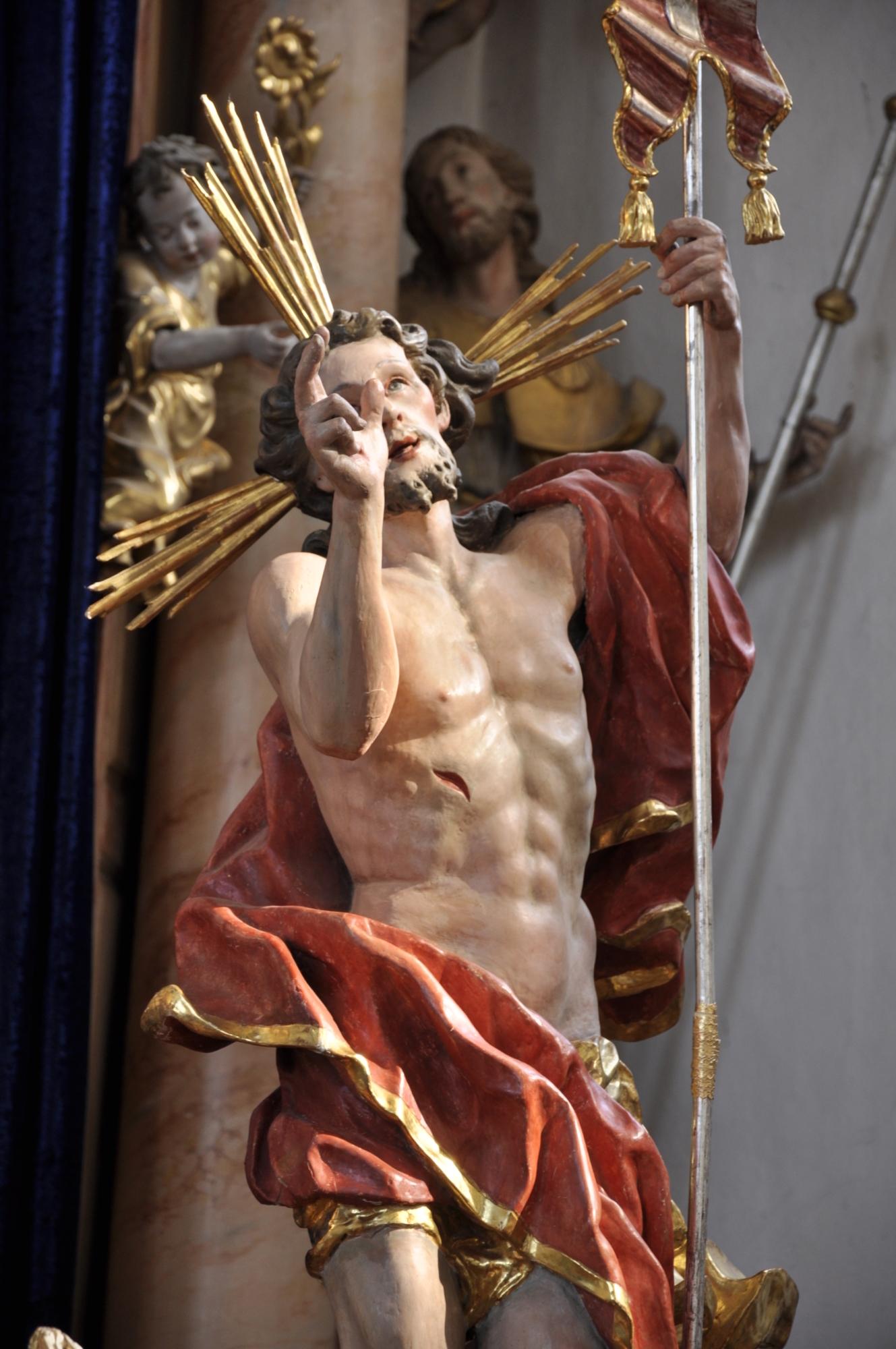 Auferstandener Jesus Feichten