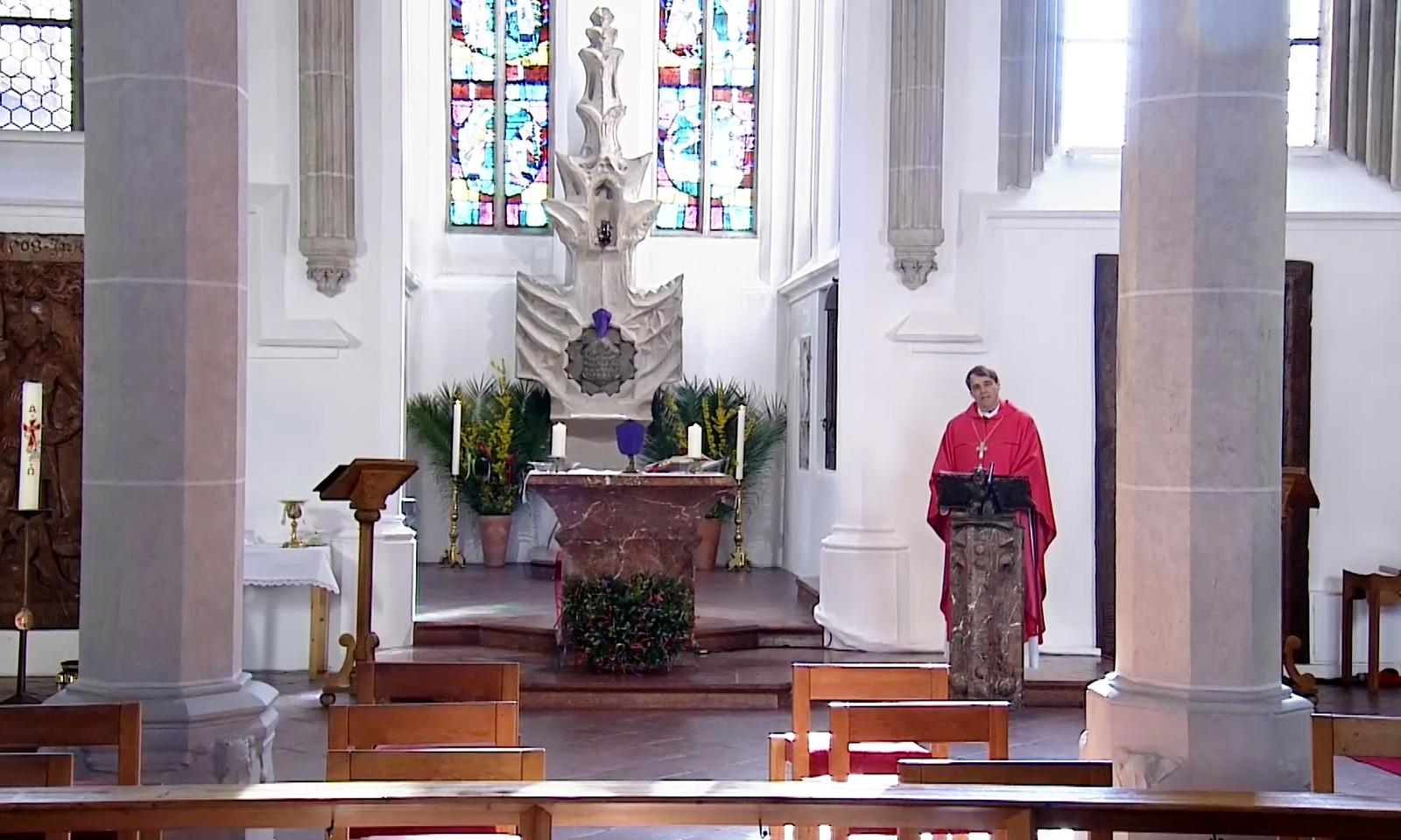 200405 Palmsonntag Predigt Bischof title