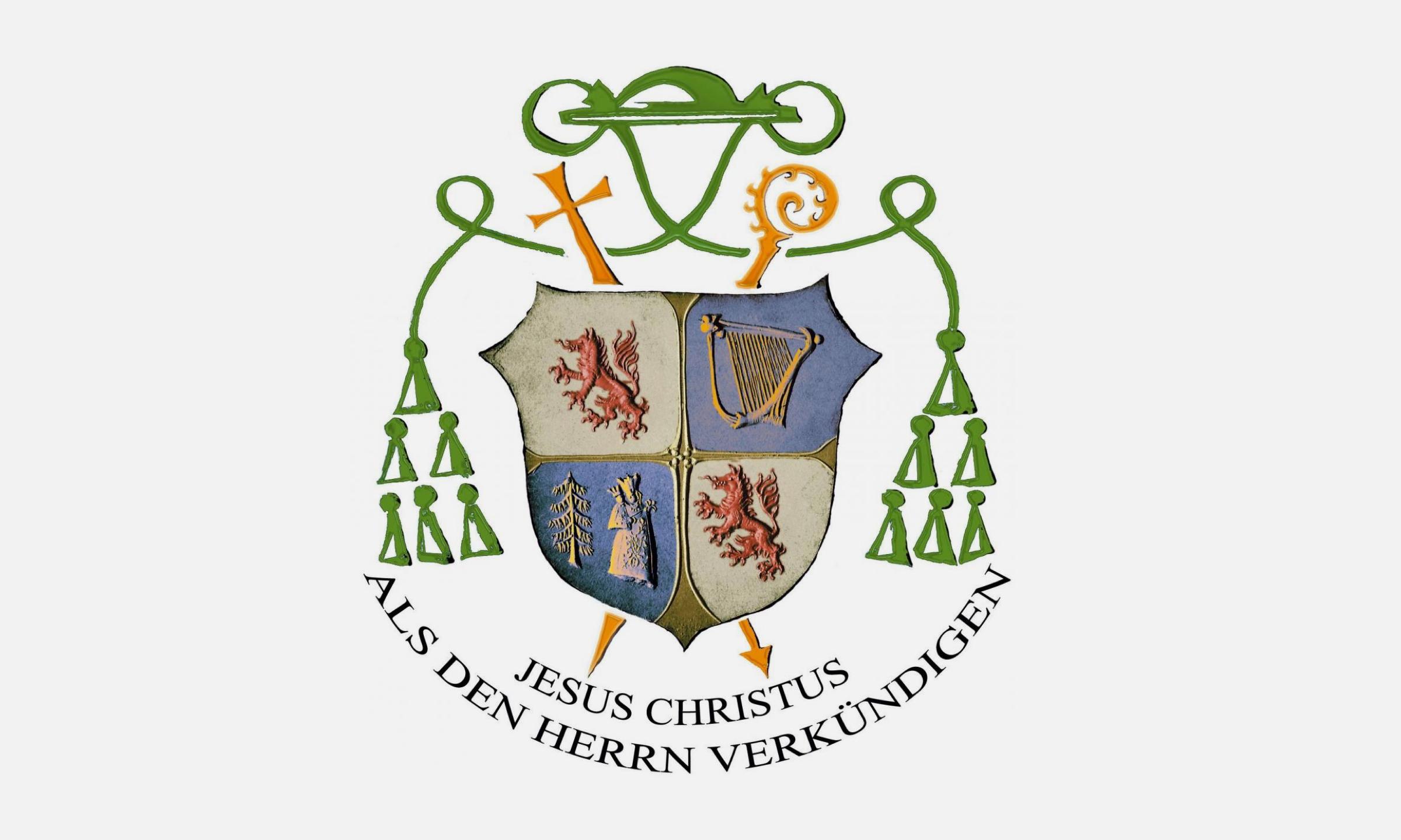 2018 Bischof Emeritus Wilhelm Schraml Wappen