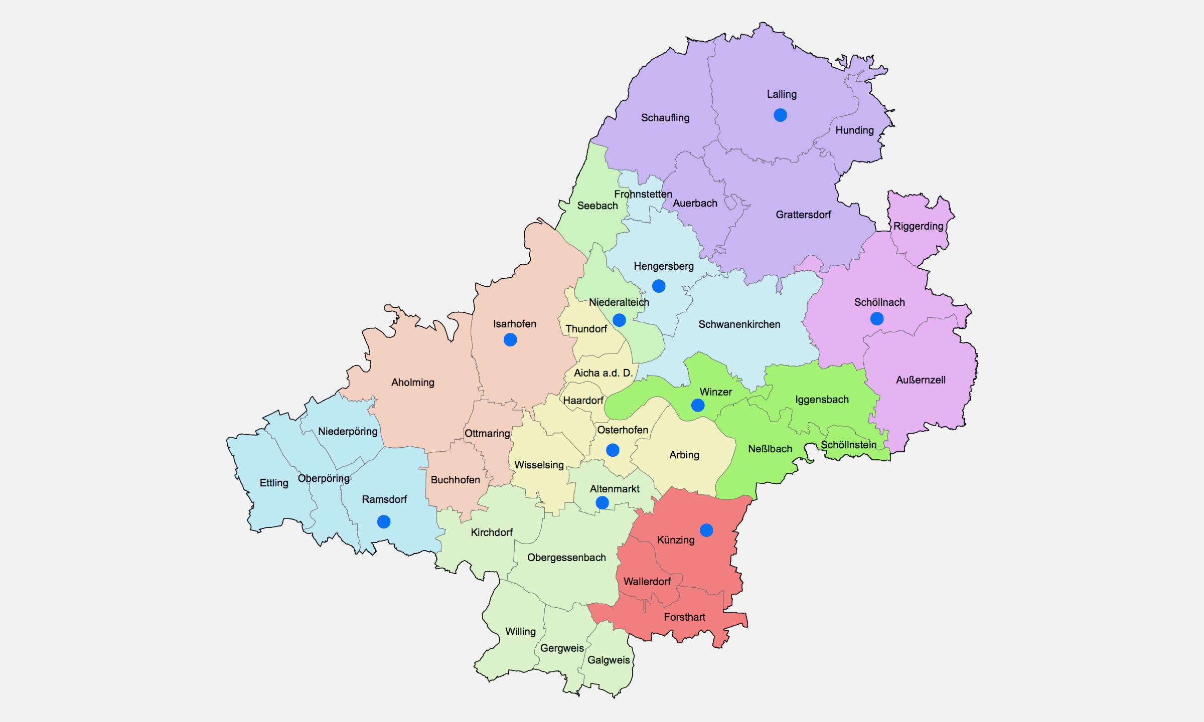 2019 Bistum Pfarreien Dekanate Osterhofen