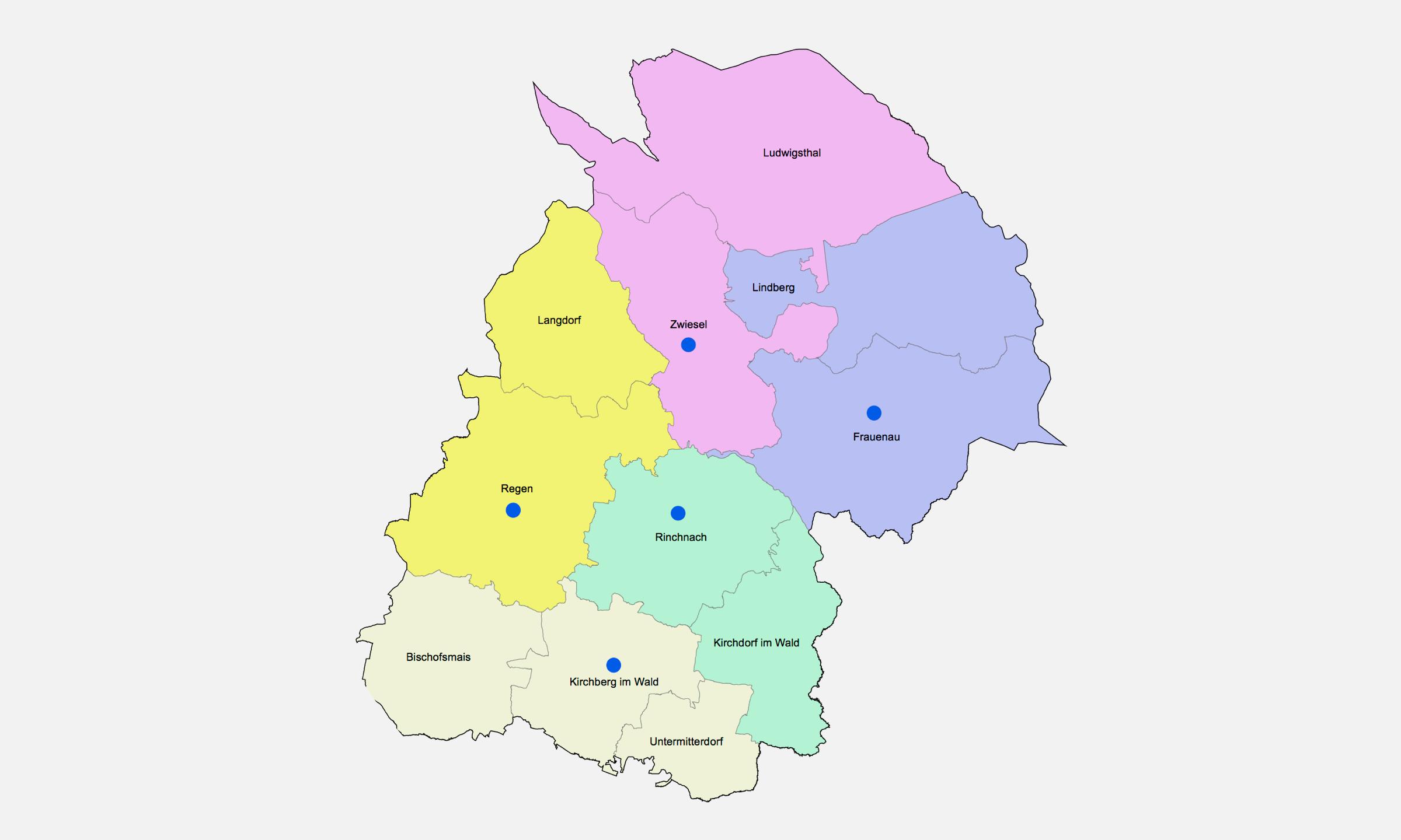 2019 Bistum Pfarreien Dekanate Regen