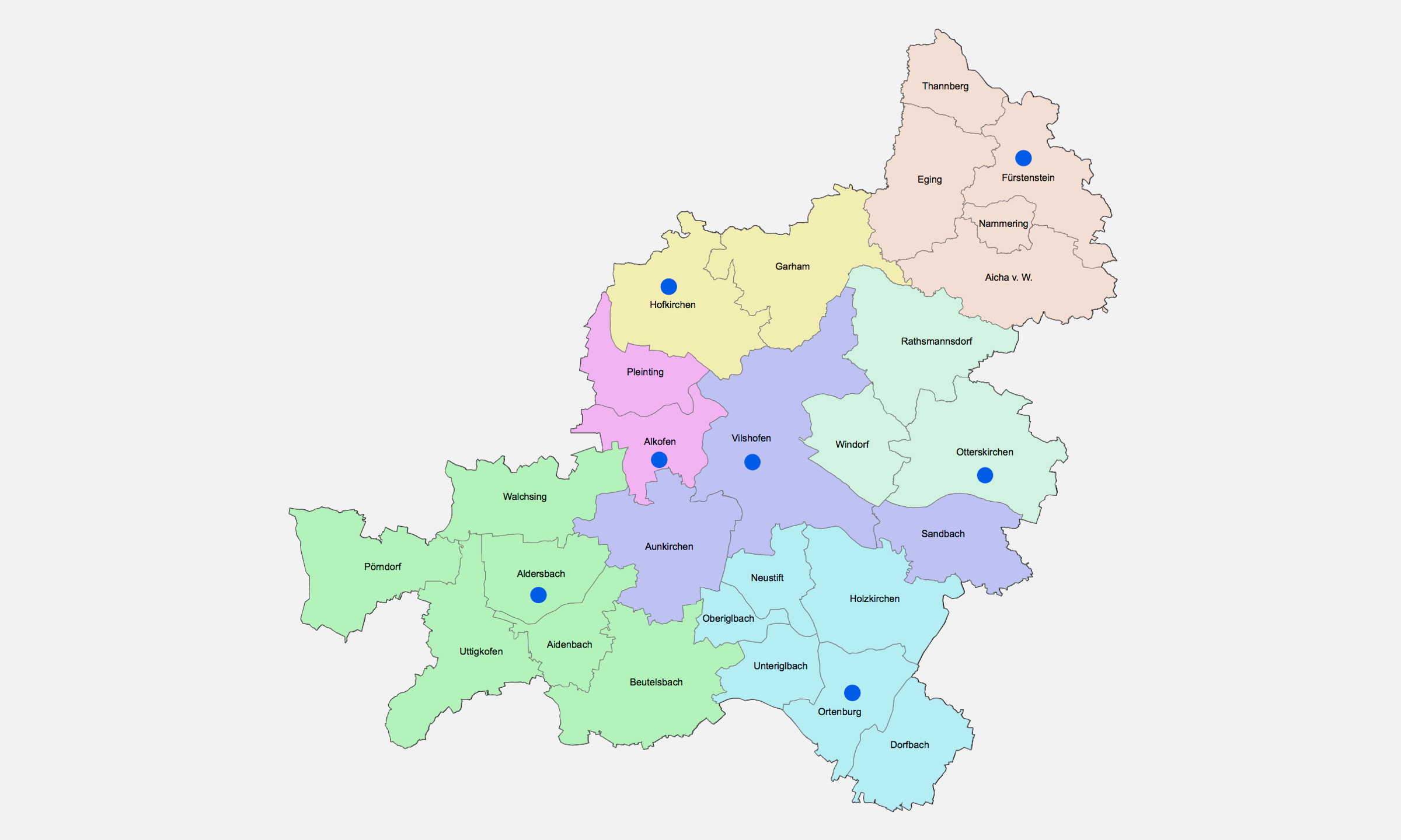 2019 Bistum Pfarreien Dekanate Vilshofen
