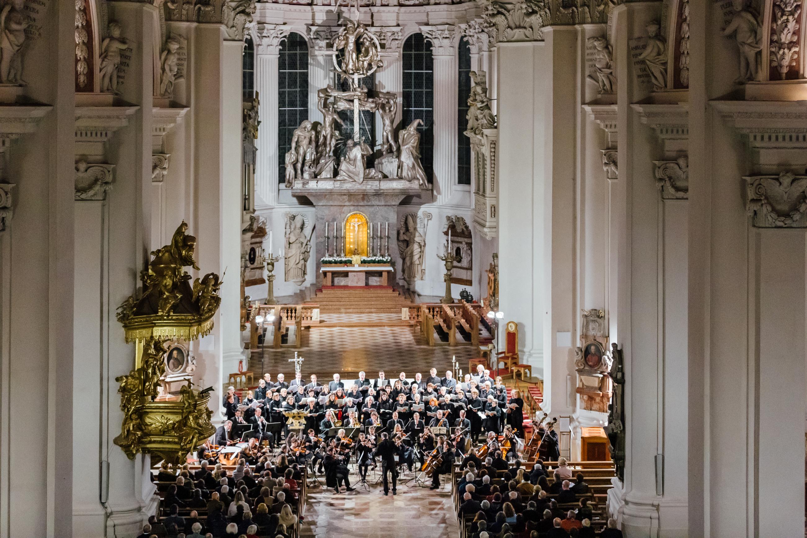 2019 Dom Passau Hochaltar Domkonzert