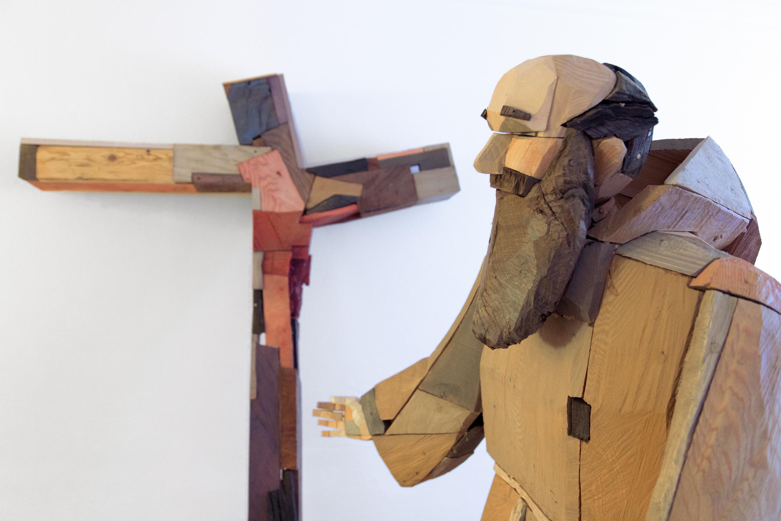 2019 Pastorales Bruder Konrad Skulptur Lauss Marktl