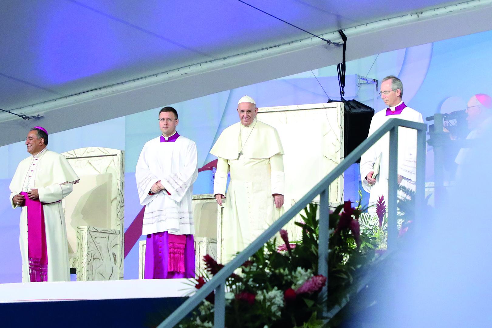 2019 01 News Wjt Papst Abschlussgottesdienst Foto4