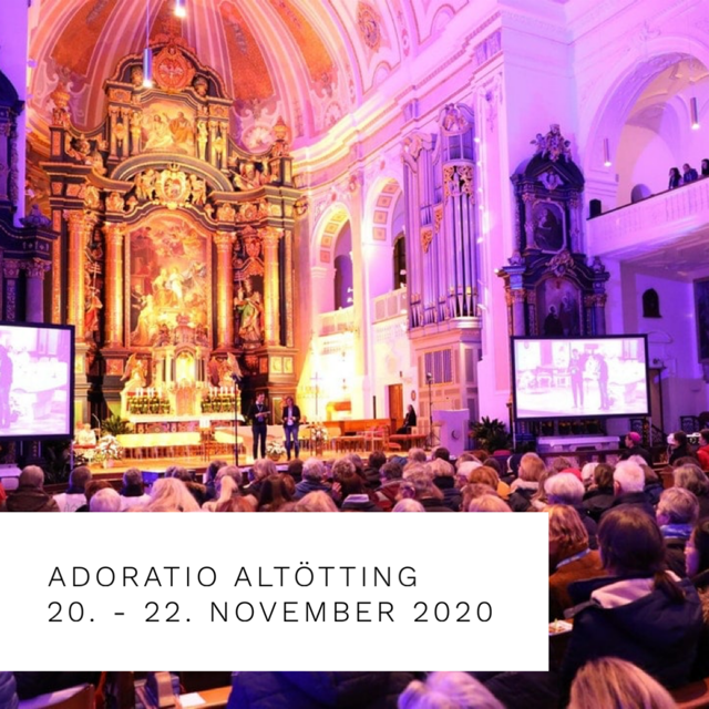 Adoratio 2020 Save the Date