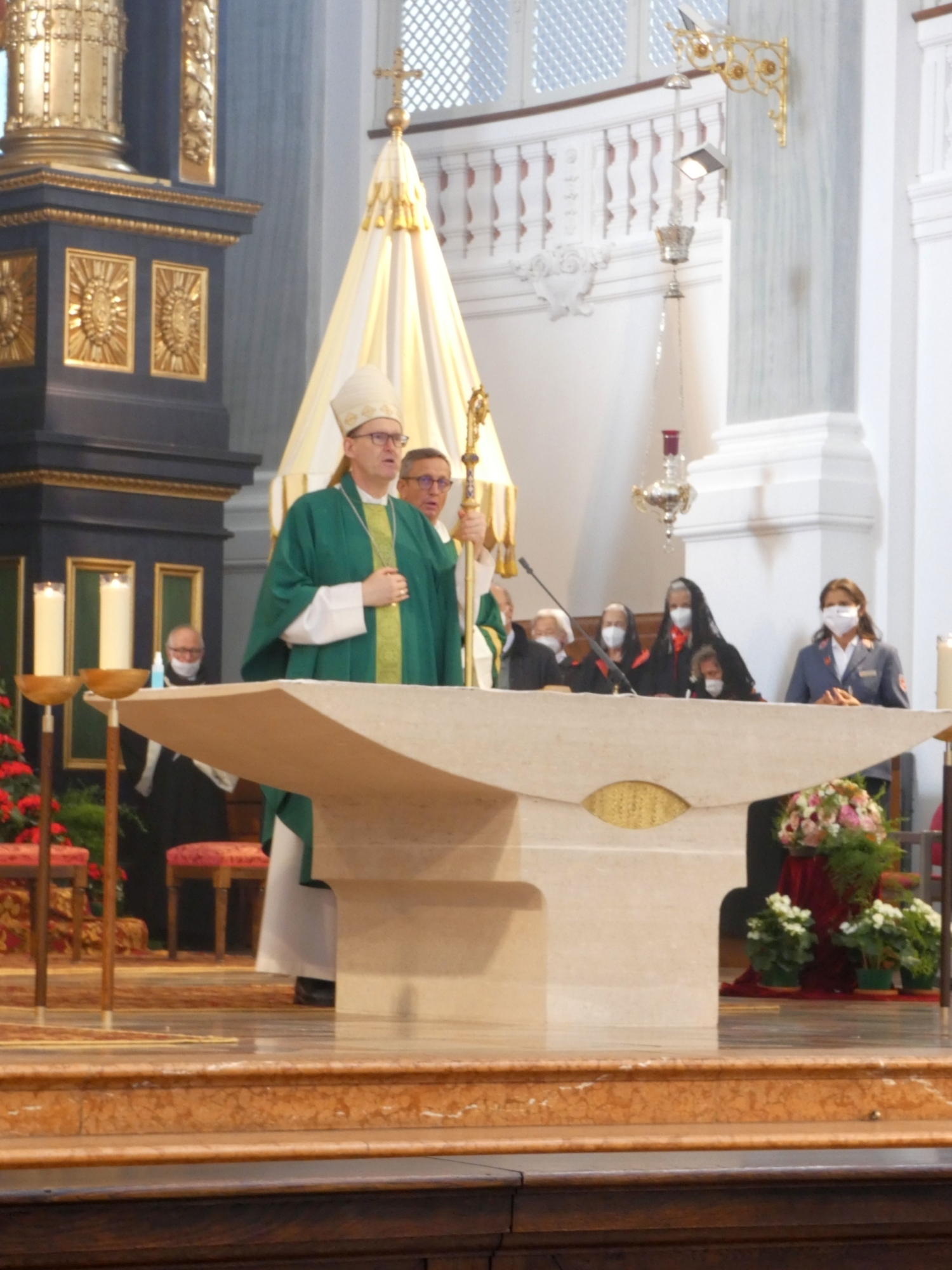 Altötting Wallfahrt Bischof 1