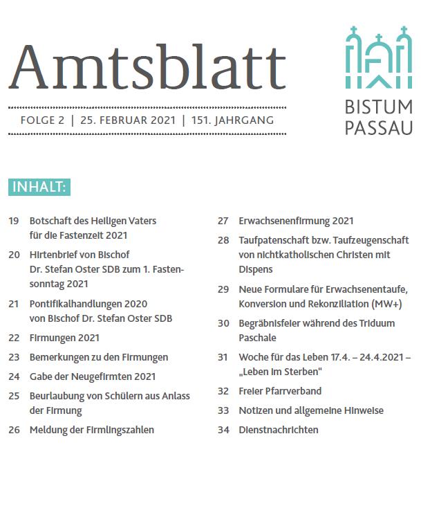 Amtsblatt 2/2021