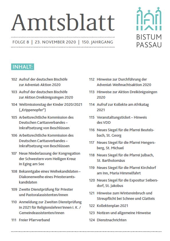 Amtsblatt 8 2020