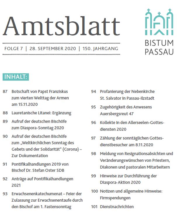 Amtsblatt Folge 7