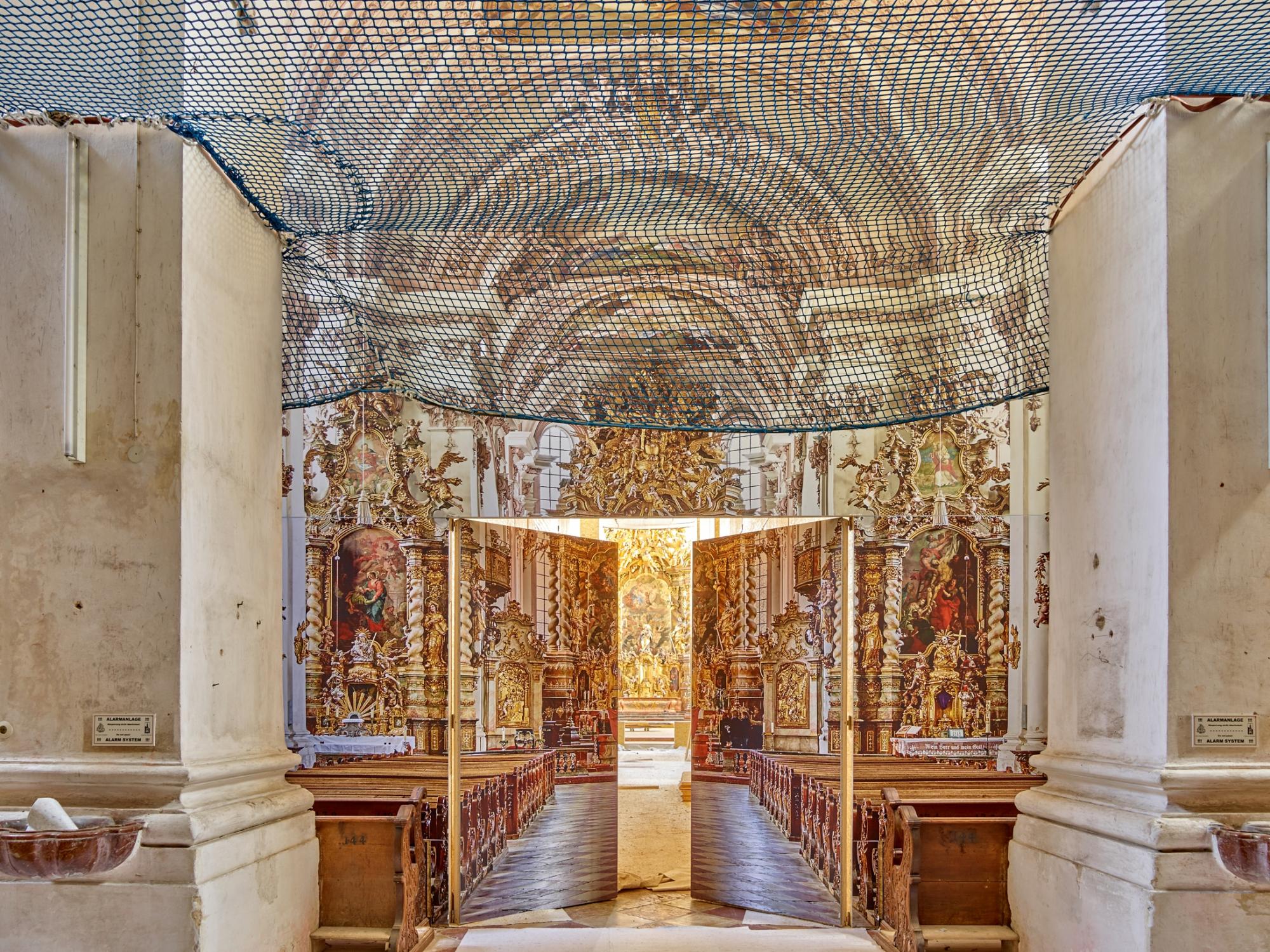 Asamkirche-Aldersbach_Innenraum-auf-Großleinwand_CF003407_peda_r