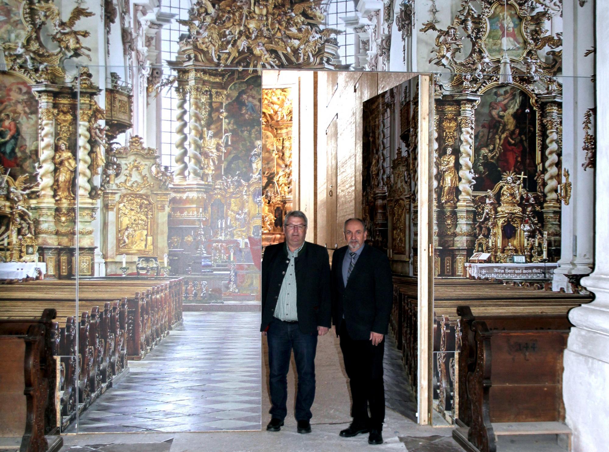 Asamkirche-Aldersbach_Innenraum-auf-Großleinwand_IMG_3043_Viemann