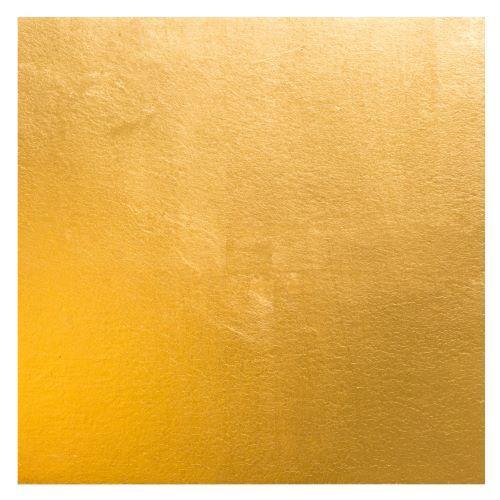 Balda Renate B41 2020 Schellacktusche auf Japanpapier montiert Goldschnitt 18 x 18 cm blattvergoldet 235 karat