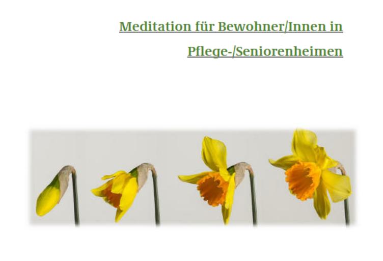 Bild März Meditation