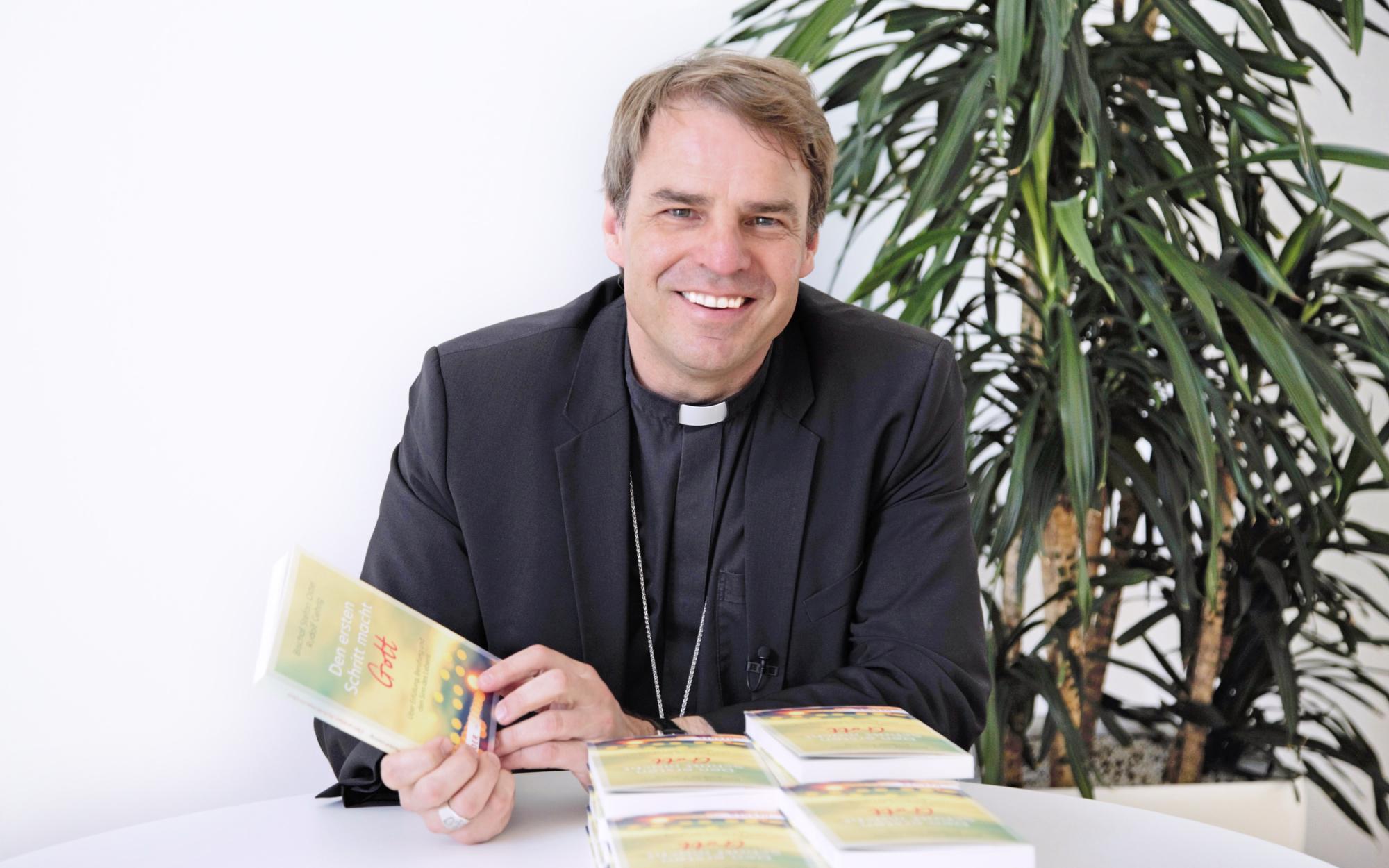Bischof Stefan Oster Buch Den ersten Schritt macht Gott Rudolf Gehrig WB