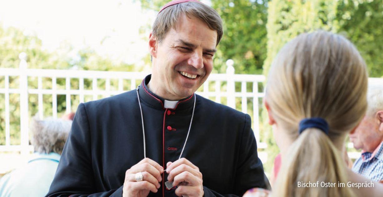 Bischof Oster Jugendliche