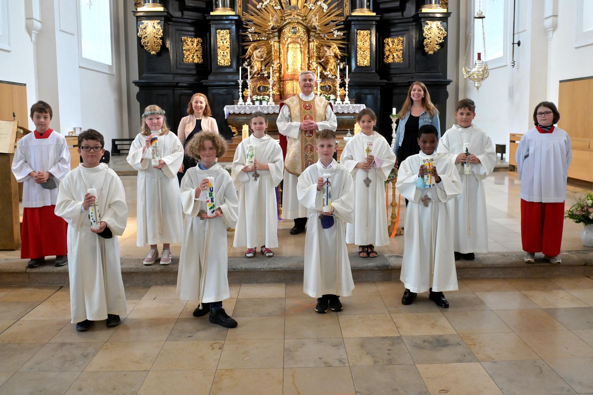 Erstkommunion Sankt Paul Juli