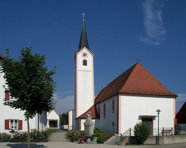 Expositurkirche St  Johannes Der Taeufer2C Ottmaring