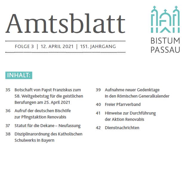 Amtsblatt 3/2021