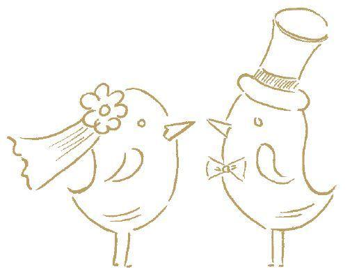 Grafik Love Birds