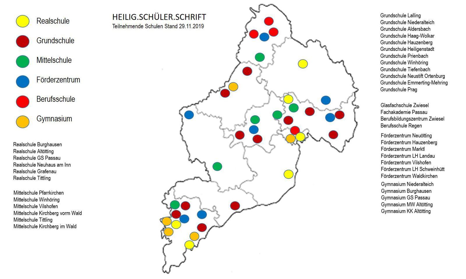 Heilig Schueler Schrift Karte final