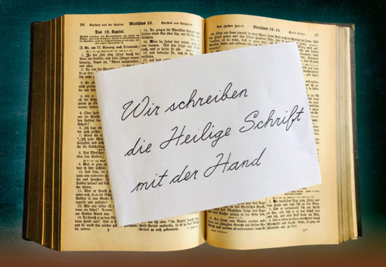 Heilig Schueler Schrift Titelbild