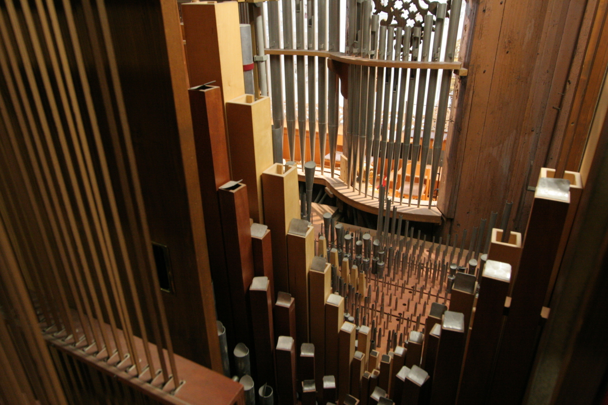 Orgel, Orgelpfeifen