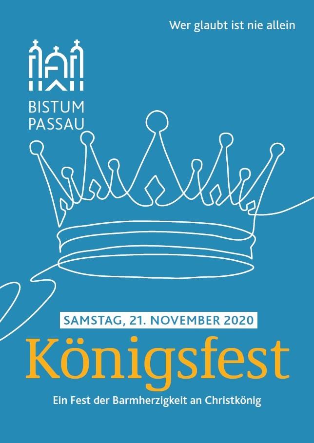Königsfest Flyer Vorderseite