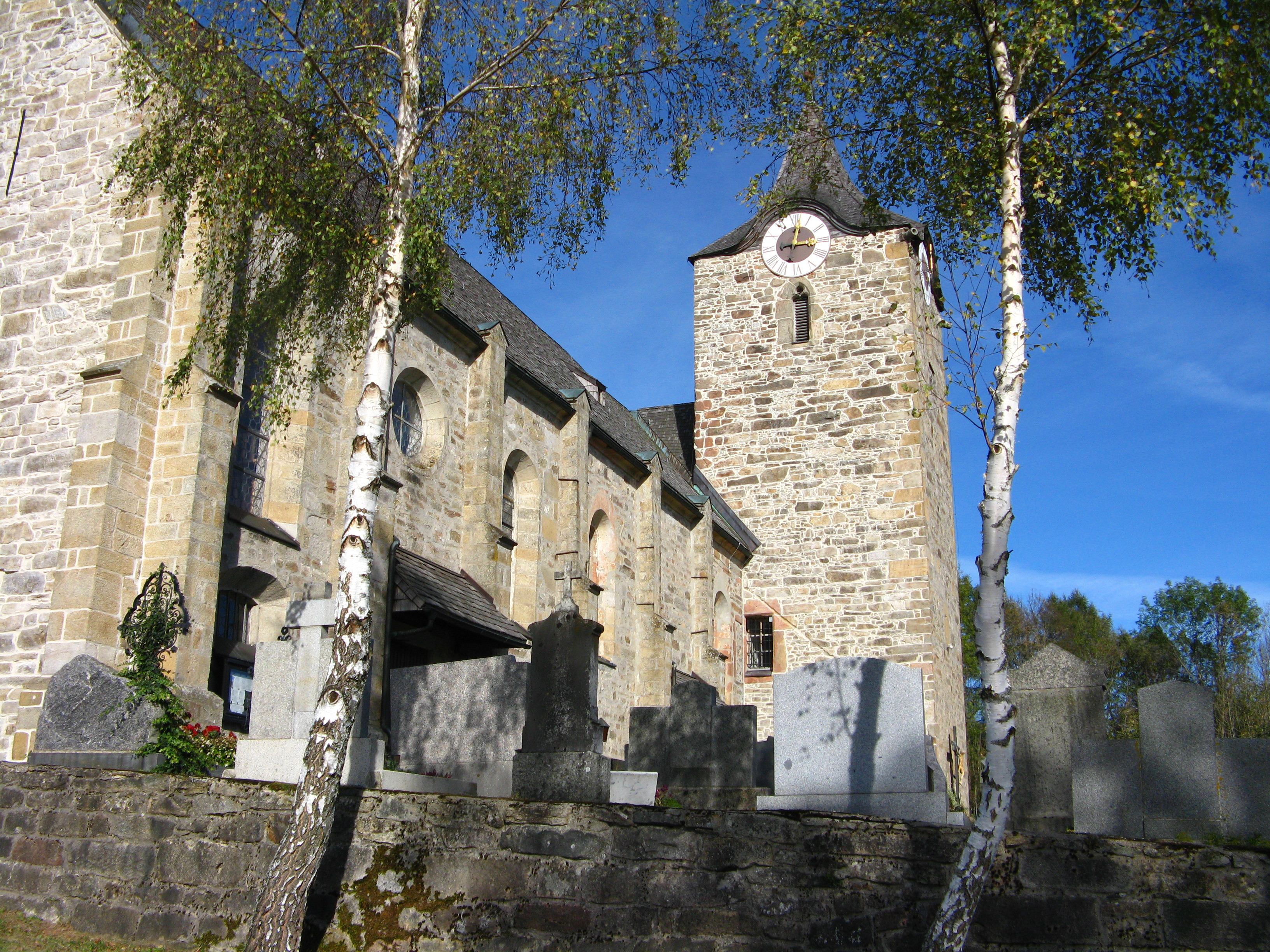 Kirche St  Gotthardt Kirchberg Im Wald