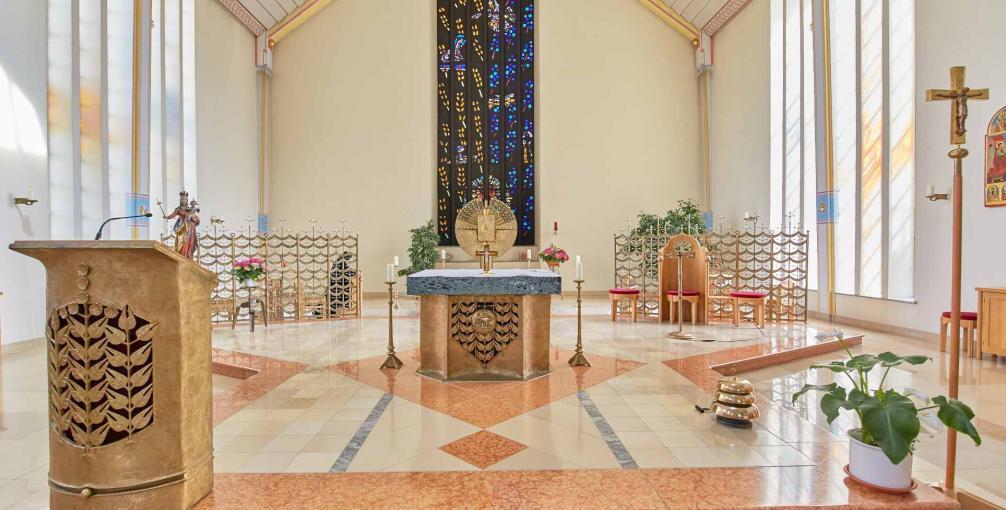 Klosterkirche Benediktinerinnen der Anbetung