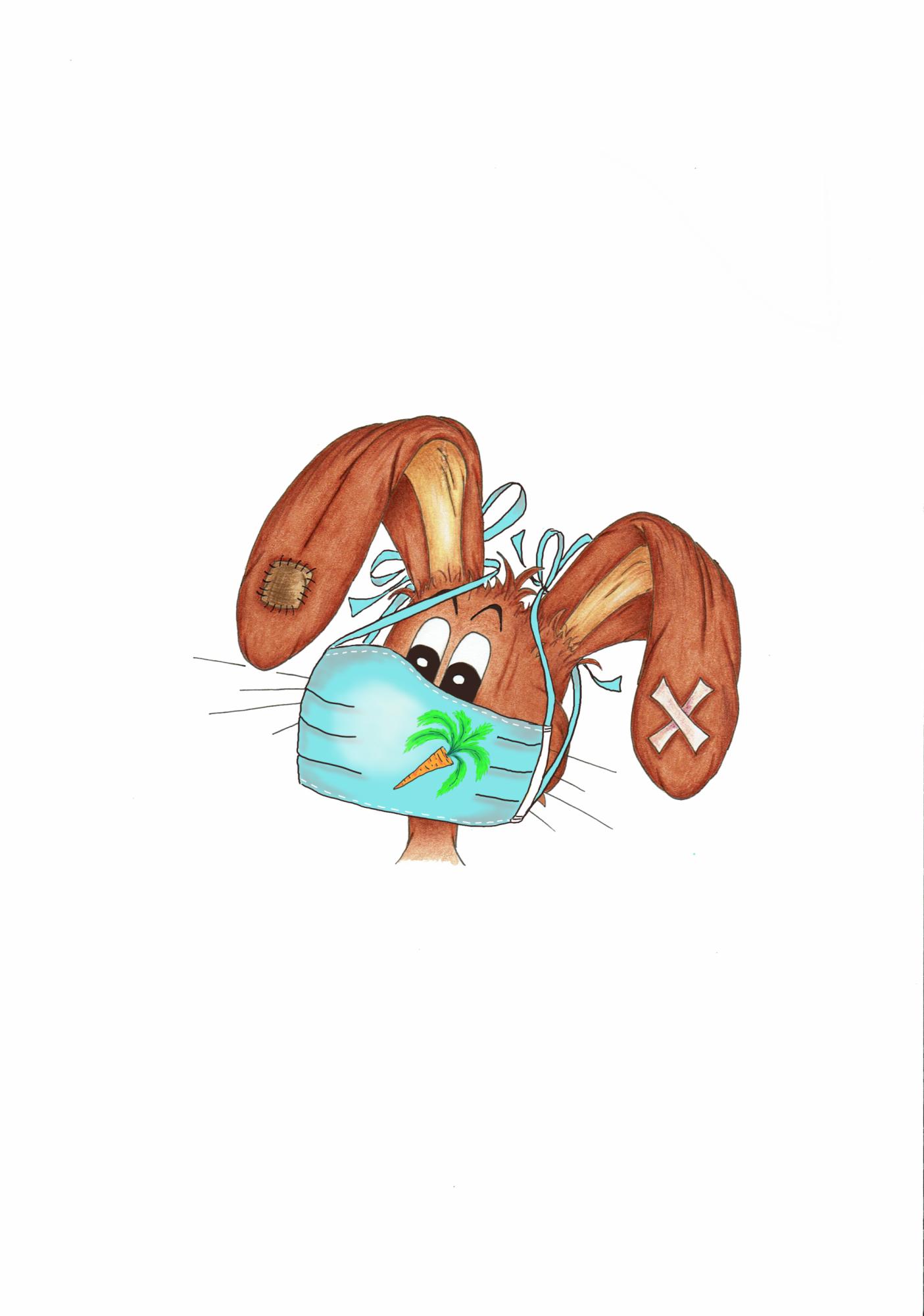 LZ mit Karottenmaske 1