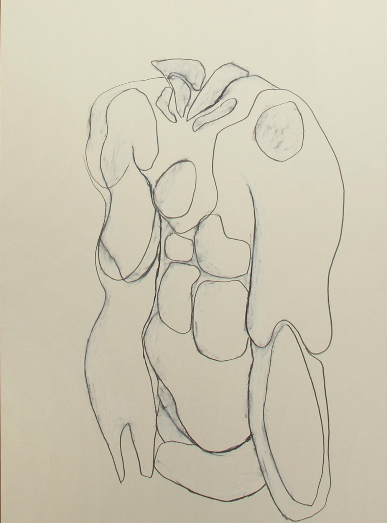 Lankes Franziska Torso Zeichnung