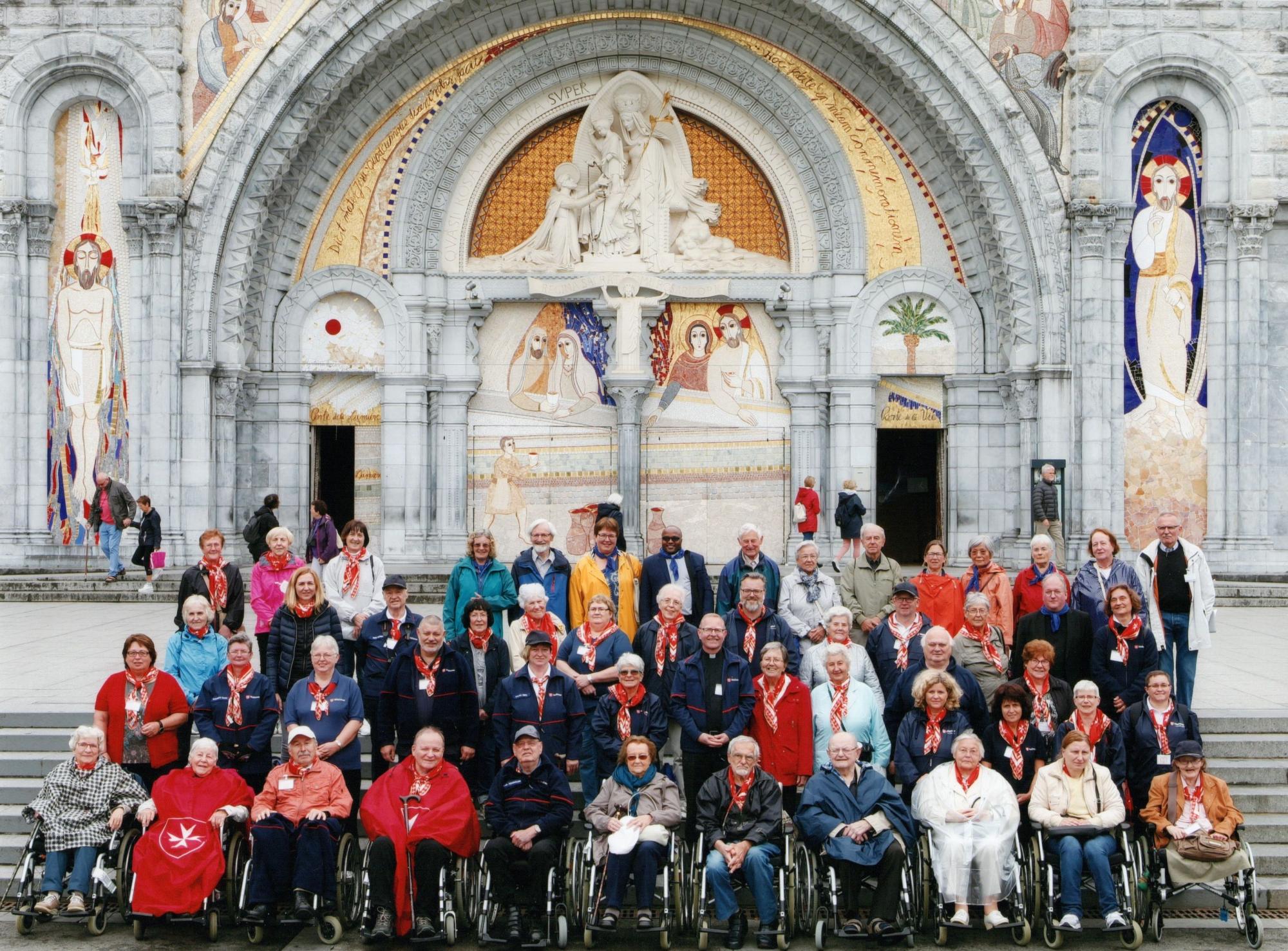 Lourdes 2018 Gruppe