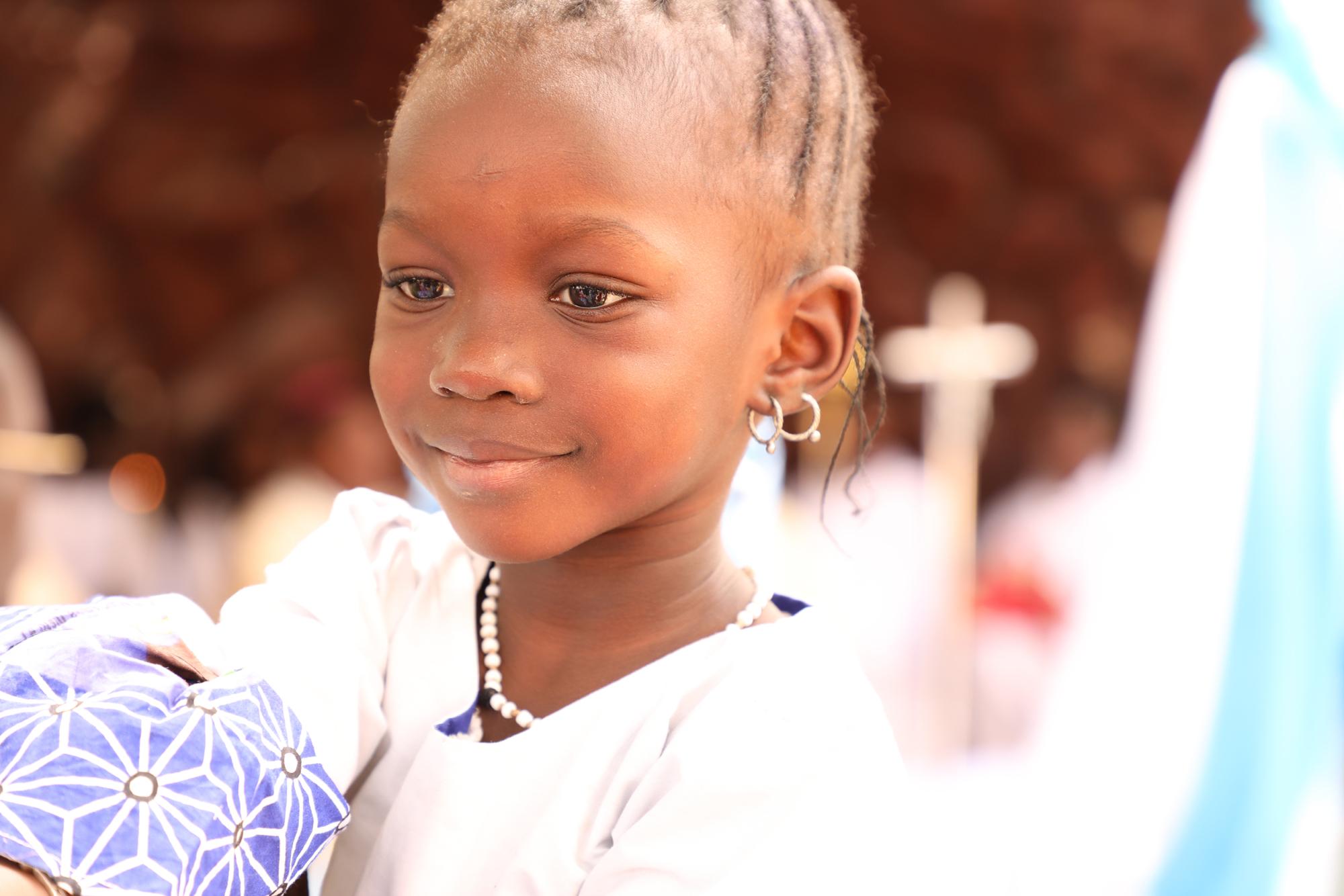 Mädchen Senegal