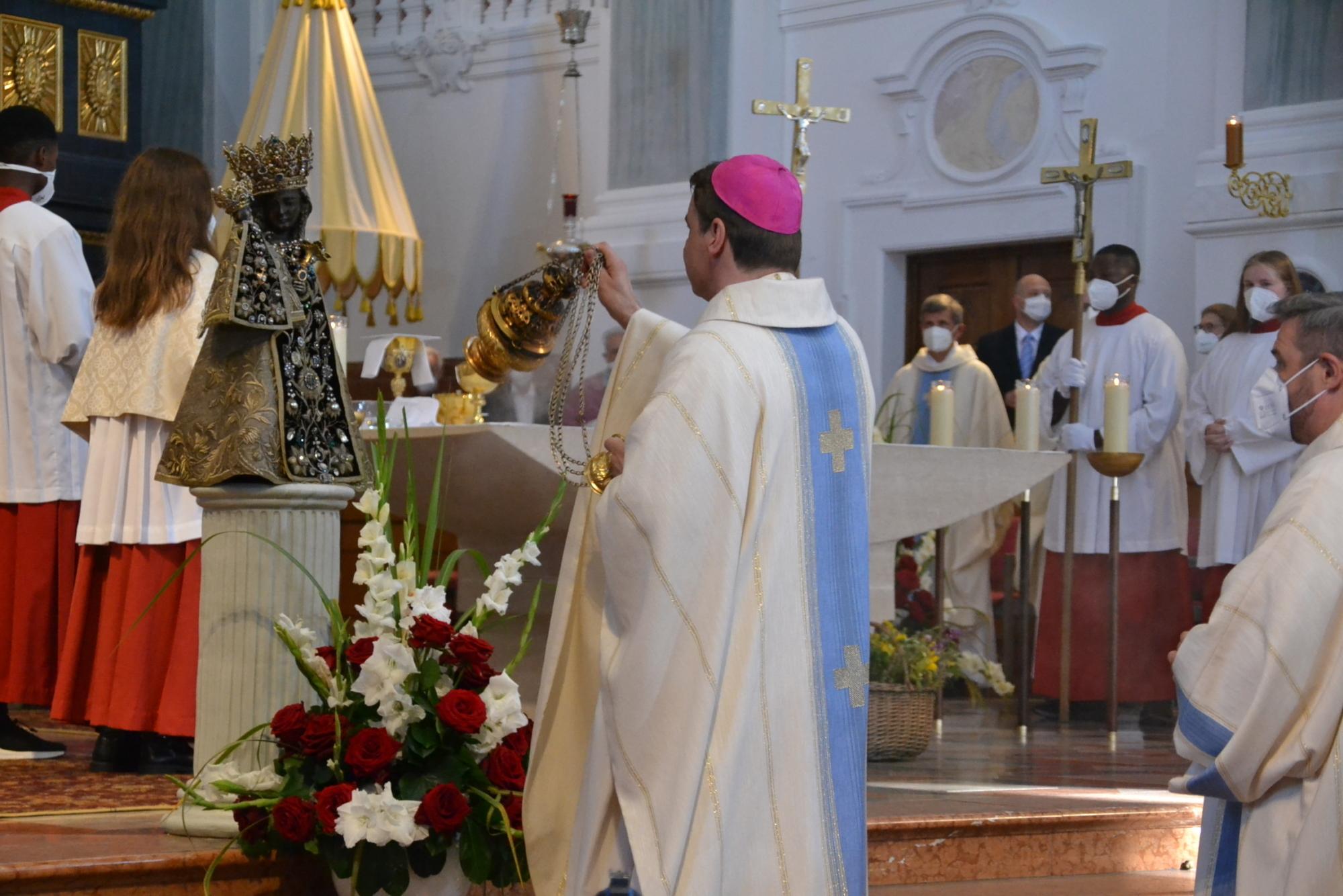 Mariä Himmelfahrt AÖ Pontifikalgottesdienst mit Bischof Stefan Oster 15 08 2021 3