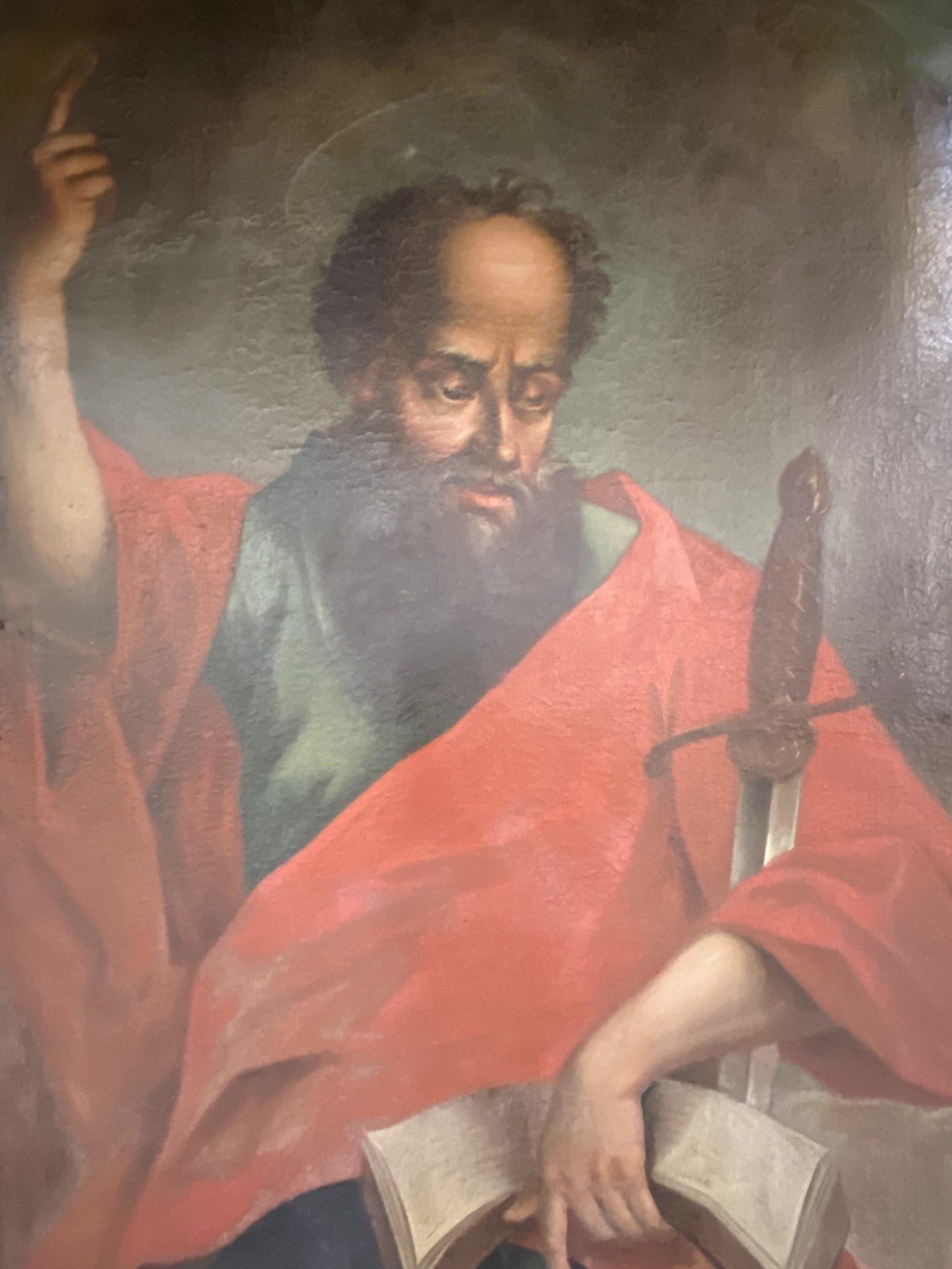 Paulus Kanzelbild Sankt Paul