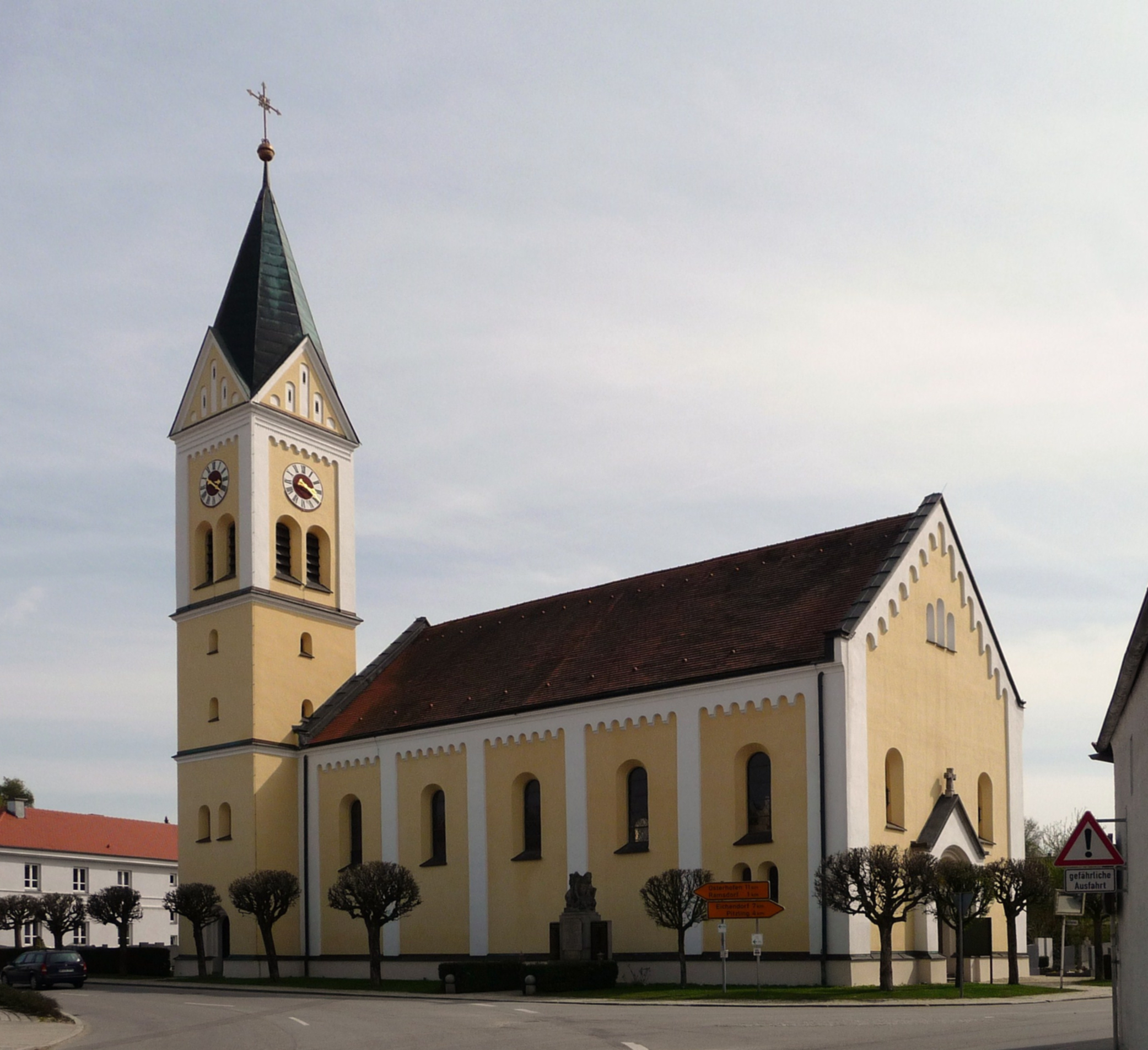 Pfarrkirche Ramsdorf Wallerfing 2