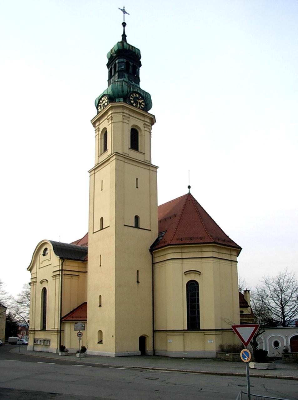 Pfarrkirche St  Anton2C Passau