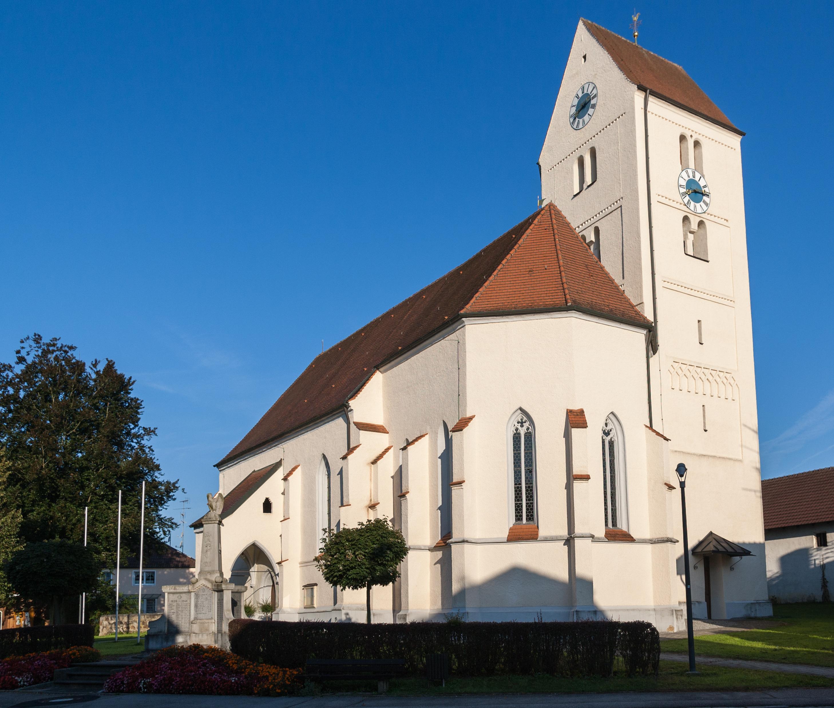Pfarrkirche St  Valentin 2