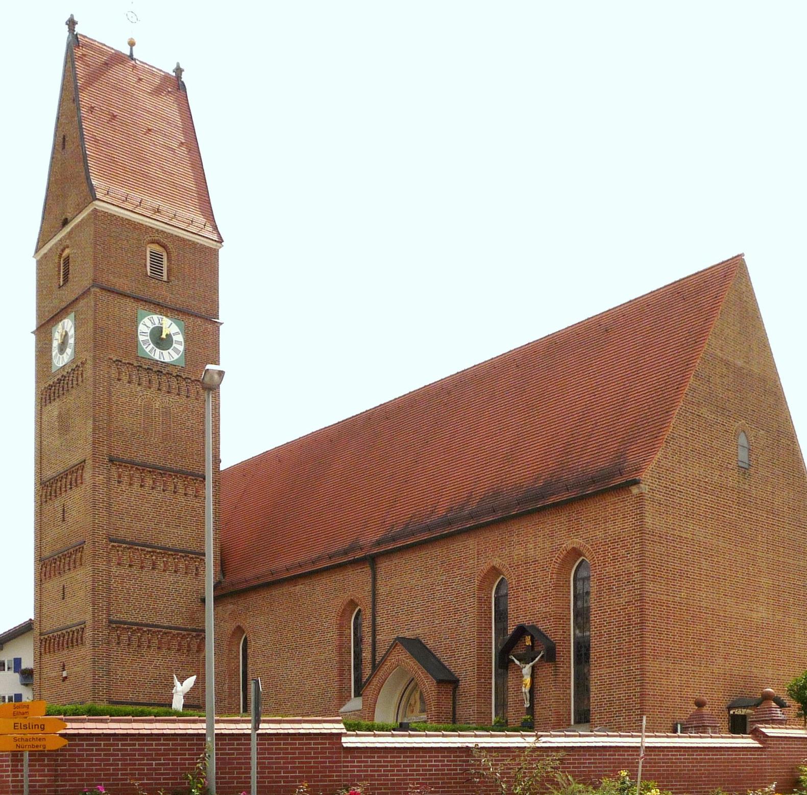 Pfarrkirche Walburgskirchen 2
