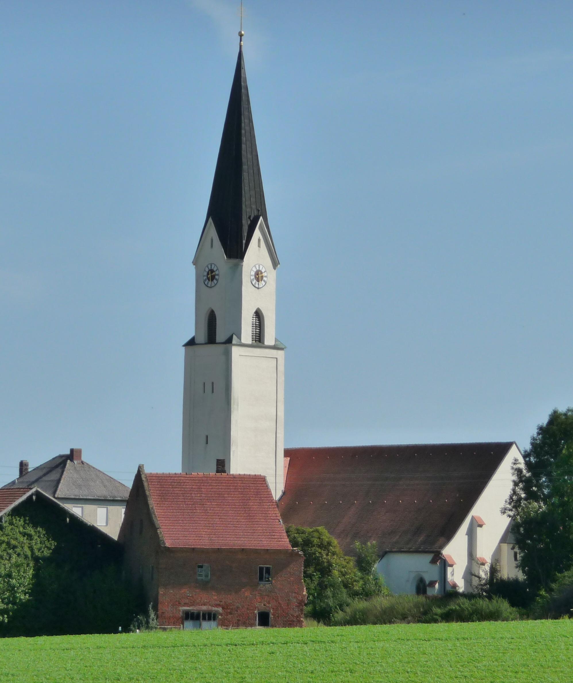 Pfarrkirche Weihmoerting