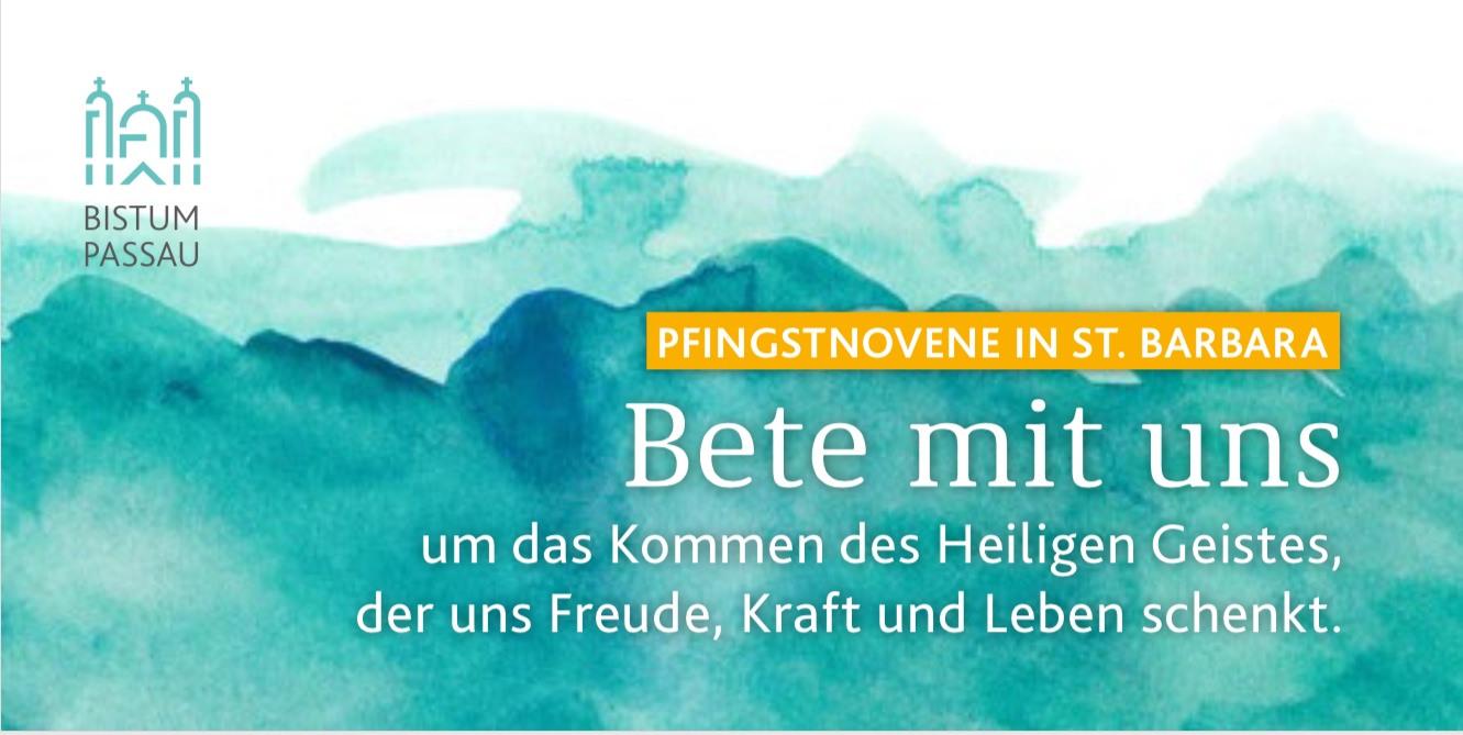 Pfingstnovene Banner