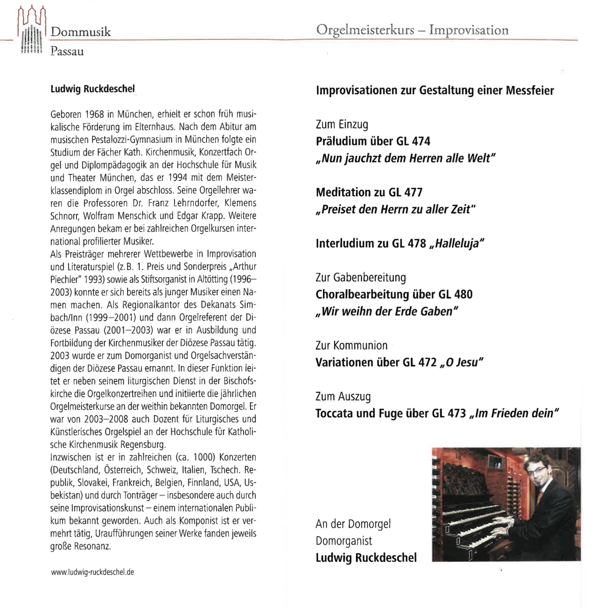 Programme LR 4 5