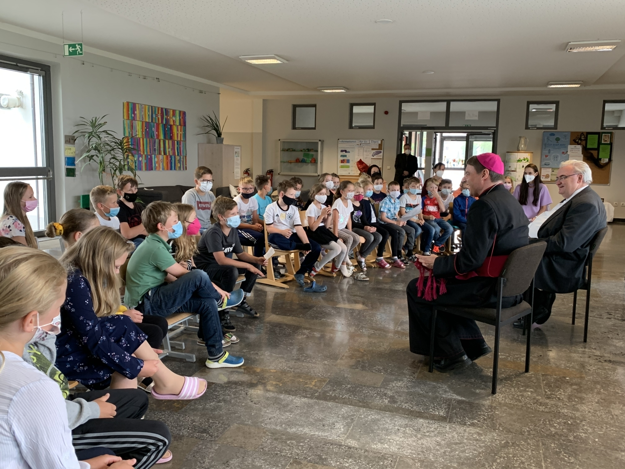 Schulbesuch Haag