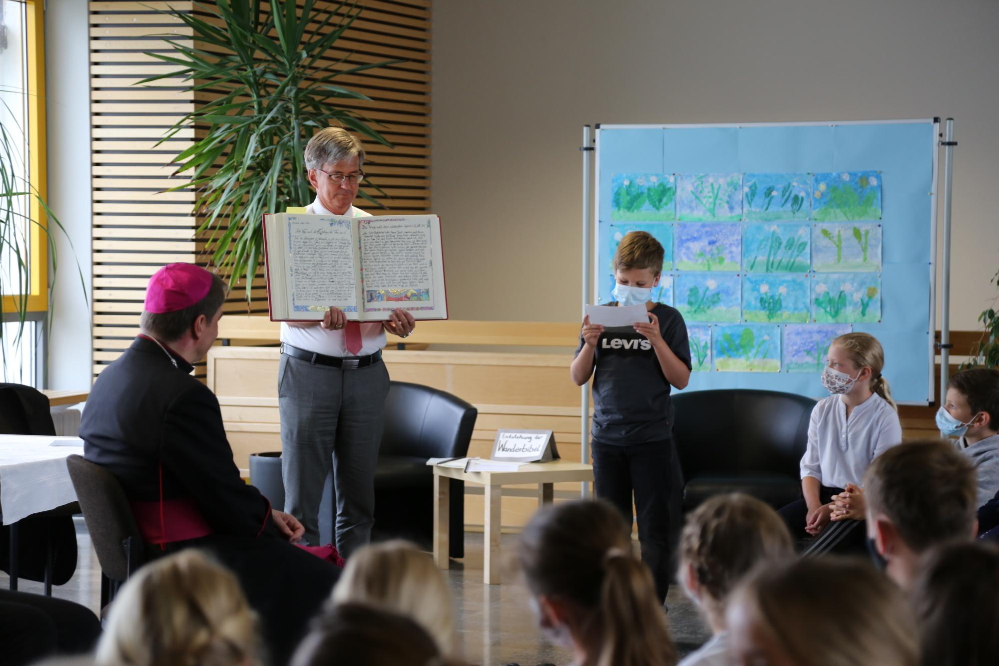Schulbesuch Haag3