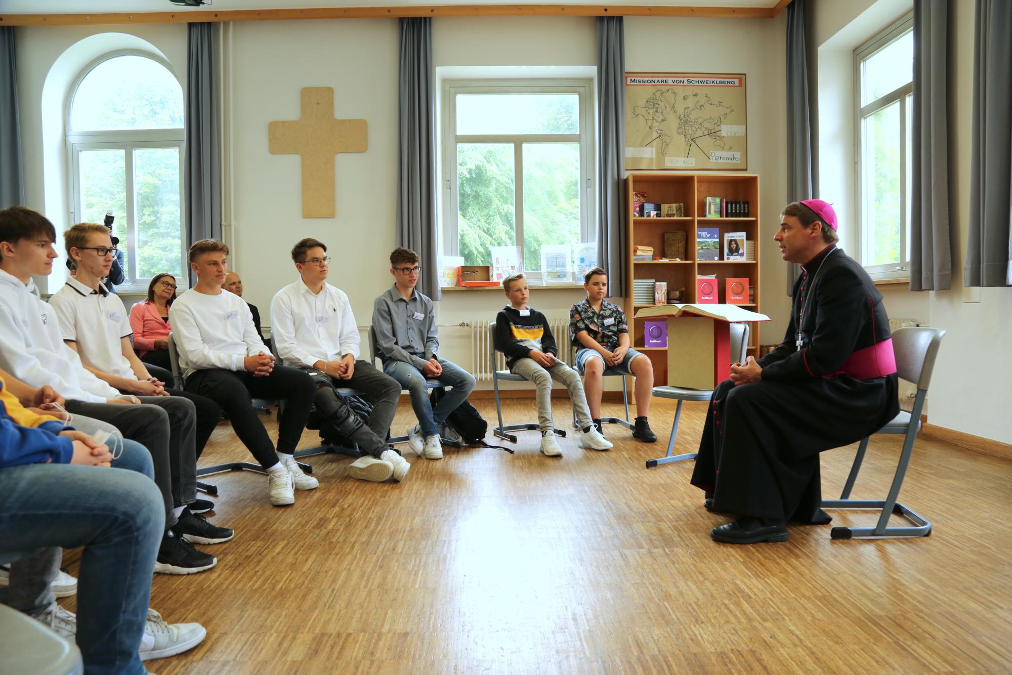 Schulbesuch Realschule Schweiklberg