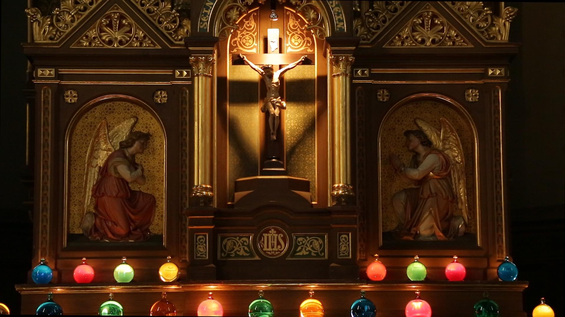 St Martin_Hl Grab_Jesus_Mitte