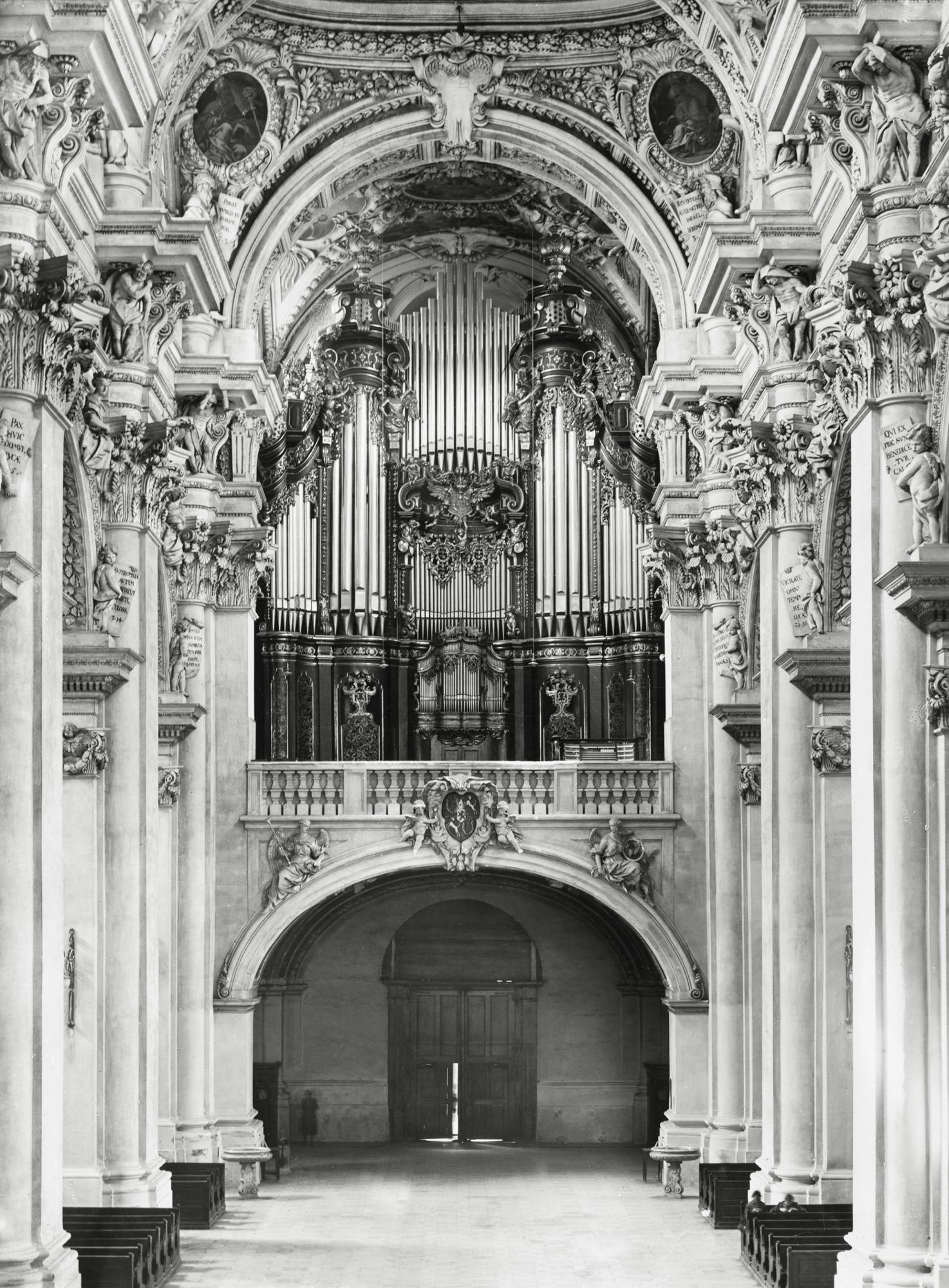 Steinmeyer Archiv Bild 1 Domorgel 1928